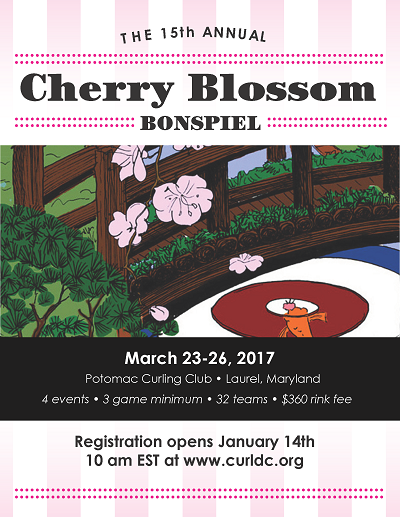 Cherry Blossom Flyer