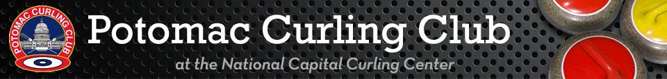 Potomac Curling Club banner